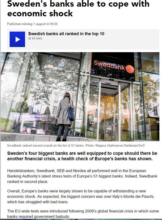 stresstest se banks