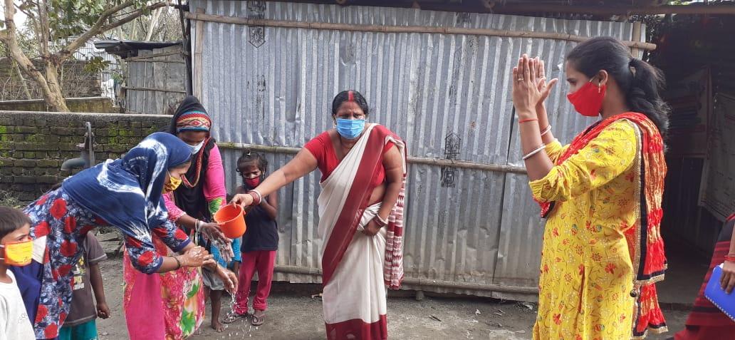 पूर्णियां/विश्व हाथ धुलाई दिवस को लेकर ज़िले के सभी आंगनबाड़ी केंद्रों पर कार्यक्रम का किया गया आयोजन