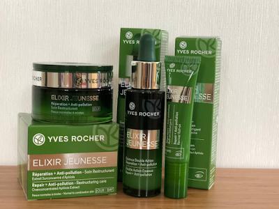 Yves Rocher Elixir Jeunesse 重點抗污染||抵禦肌膚老化免受修害