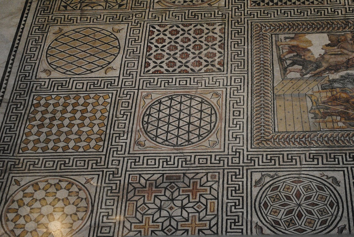 My Photos: Mosaics -- France -- Nîmes