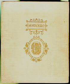 Cover of Aleister Crowley's Book Mortadello Or The Angel Of Venice