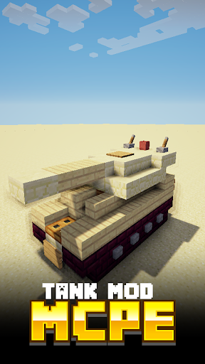Tank MODS For MCPE.