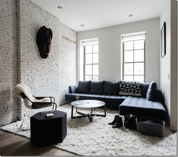case e interni - stile scandinavo a new york - colore grigio - blu (9)