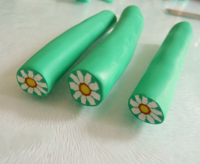 Flower Cane Polymer Clay Tutorial by Georgia P. Designs