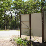 Large sign near Jetty Point Drive in Murray's Beach (389093)