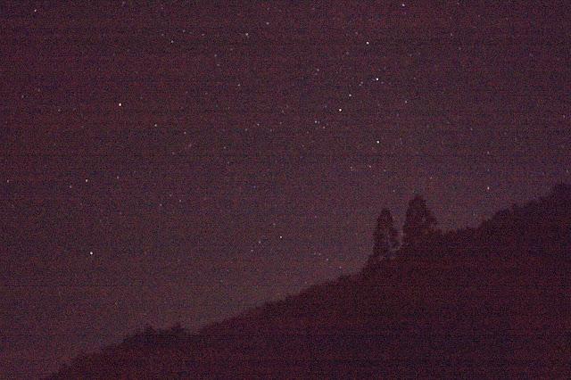 国道300号の夜