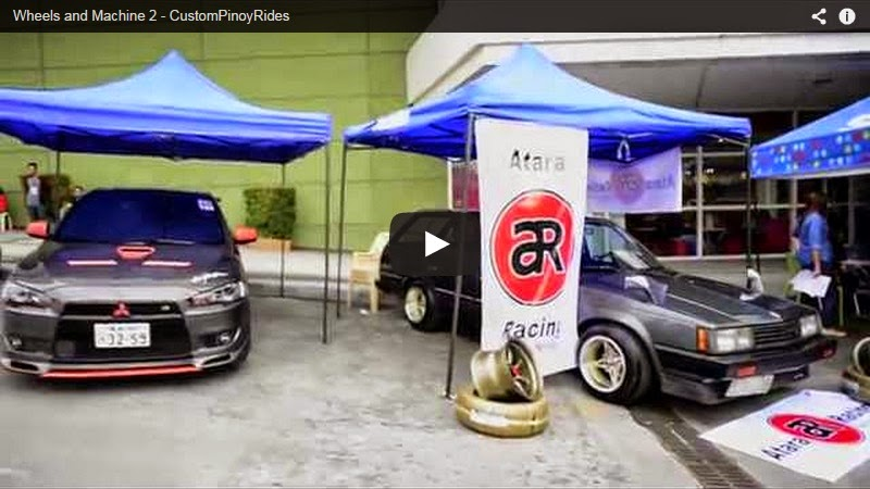 Wheels and Machines 2 Video Coverage by Custom Pinoy Rides Car Videography Manila Philippines
