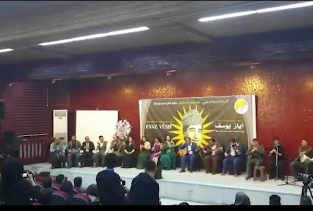 """جامعة روجآفا تحيي ذكرى الفنان الكردي """" أياز زاخوي """""""