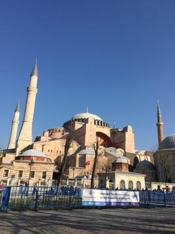 Bangunan bersejarah Hagya Sofia, Turki