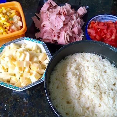 receita arroz de forno