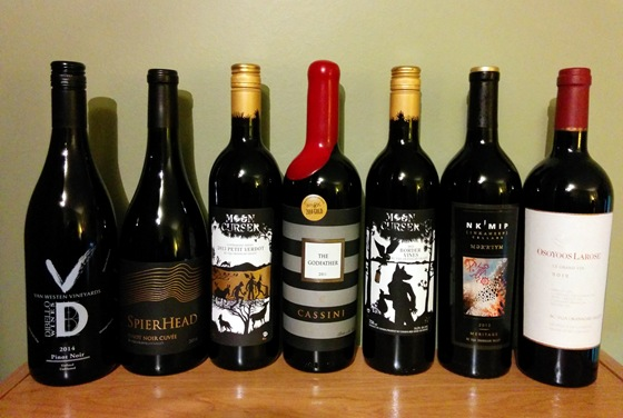 February 2016 BC wine collectibles