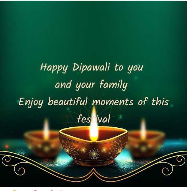 Happy Diwali Wishes Beautiful Image