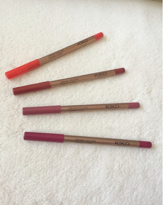 Kiko comfort lip liners review