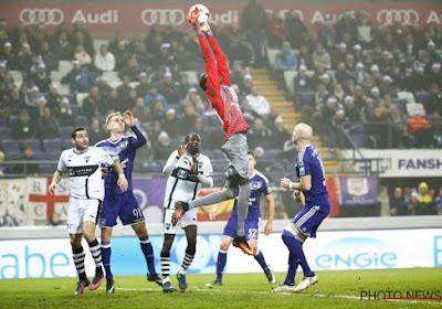 Herman Brusselmans was danig onder de 'indruk' van doelman Niasse van Eupen in Anderlecht