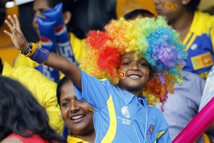 Cricket Fashion, ICC world cup, world cup hair style, cricket girl fashion, Actress Mink Bares her Back, Assorted Fans style, hair style