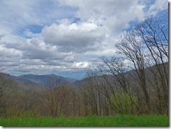 Eastern side Great Smoky Mountains