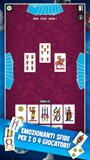 Traversone Più - Giochi di Carte Social apklade screenshots 2