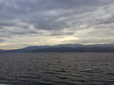 Blick zurück auf die Umgebung von Split