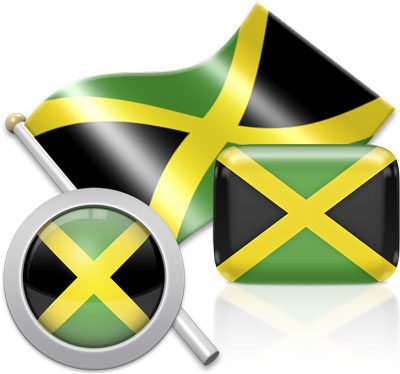 Jamaican flag icons pictures collection