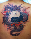 dragon and yin yang tattoo Designs 1