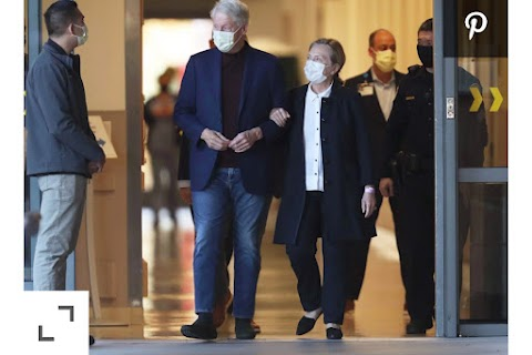 President Bill Clinton Discharged from Hospital Under Watch of Medical Practioner after been Treated of an illness.
