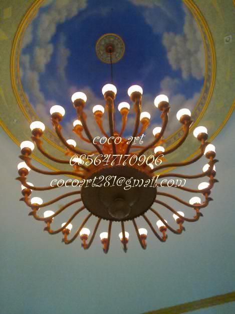 lampu-gantung-masjid-tembaga