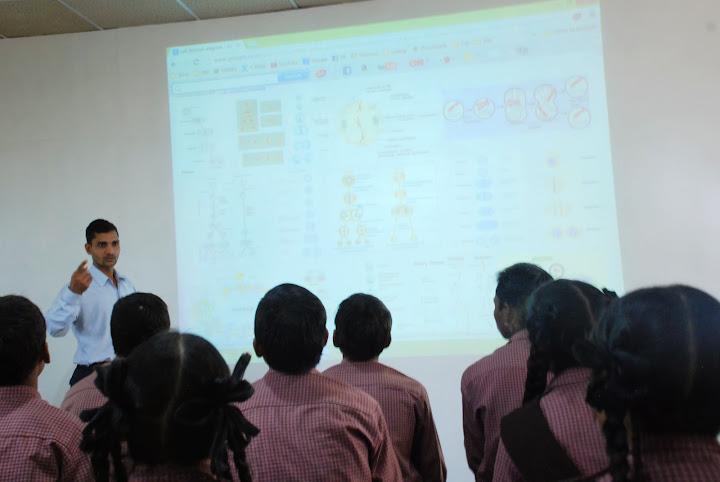 Children in Computer Lab/Audio Visual Class