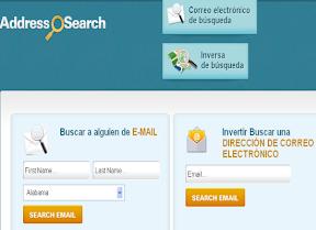Buscador direcciones correo electronicos
