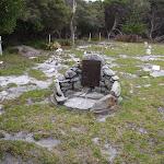 Plaque in graveyard (107500)