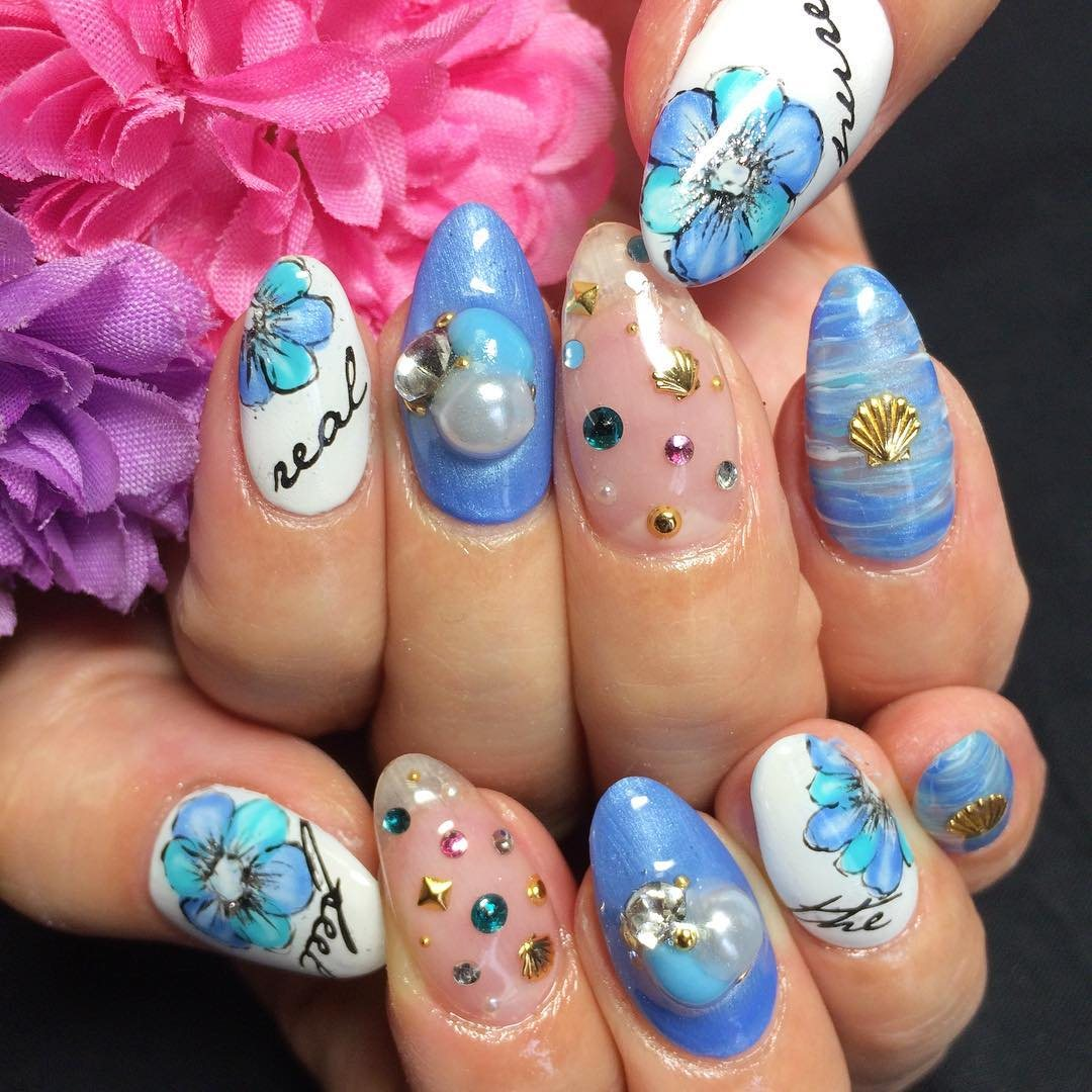 Gel Nail Designs and Ideas For Summer 2018 - style you 7