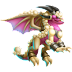 Dragón Perla Perseverante   Perseverence Pearl Dragon
