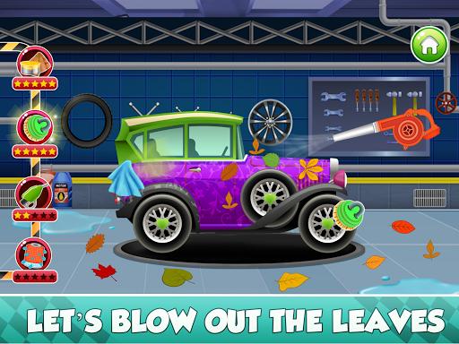 Télécharger Enfants Car Wash Salon et service Garage APK MOD (Astuce) screenshots 2