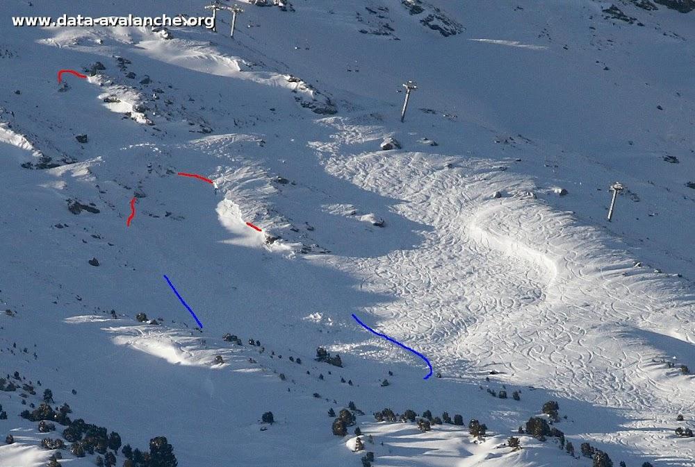 Avalanche Haute Maurienne, secteur La Norma, Combe de la Cabane - Photo 1