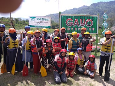 Liburan Bersama Keluarga, Arung Jeram Pegasing Tanah Gayo Aceh Tengah