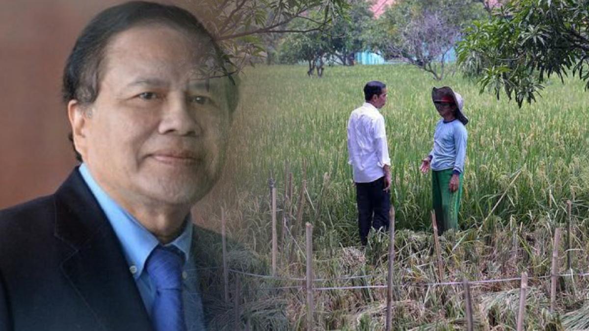 Wacana Impor Beras 1 Juta Ton, Rizal Ramli Sindir Jokowi: Doyannya Selfi dengan Petani, Ambyar!