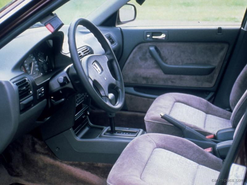 1993 Honda Accord Sedan Specifications, Pictures, Prices