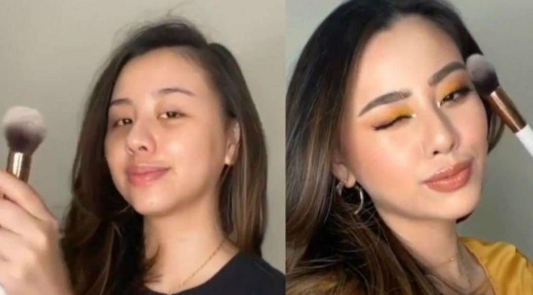 How To Do Tiktok Makeup Brush Challenge Makeupamat Com