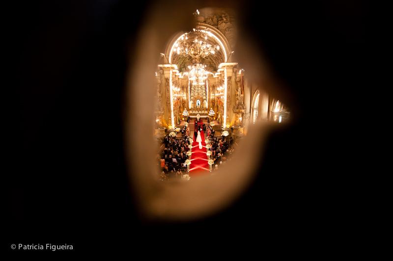 Foto de casamento 0801 de Ana e Joao. Marcações: 29/10/2011, Casamento Ana e Joao, Igreja, Igreja Sao Francisco de Paula, Rio de Janeiro.