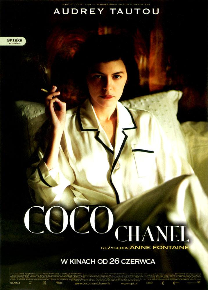 Ulotka filmu 'Coco Chanel (przód - wersja B)'