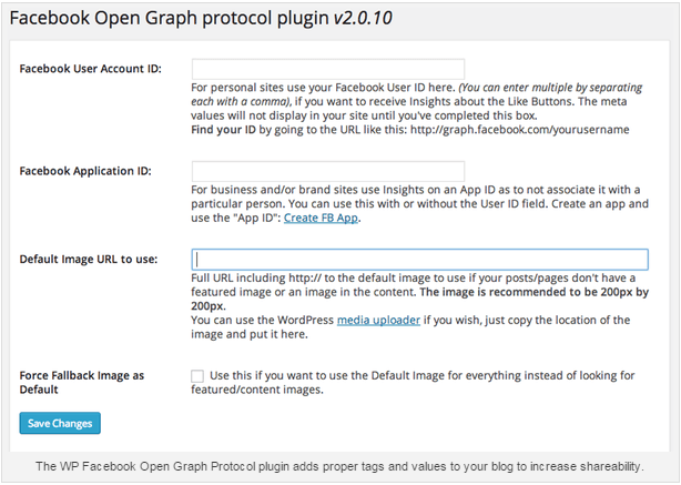 Control the Look of Your Content on Facebook With WP Facebook Open Graph Protocol