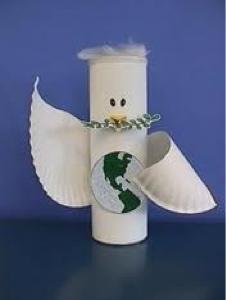 Resultado de imagen de dia de la paz manualidades