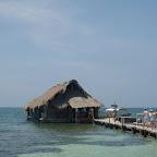 Muelle del acuario de Isla Palma