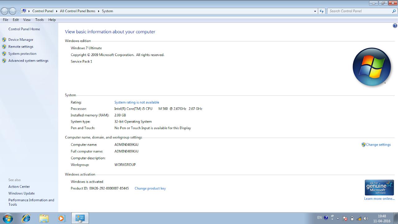 Download Ghost Windows 72 32 bit Full