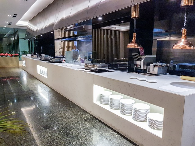 Hilton Garden Inn Puchong Room Restaurant Buffet Station