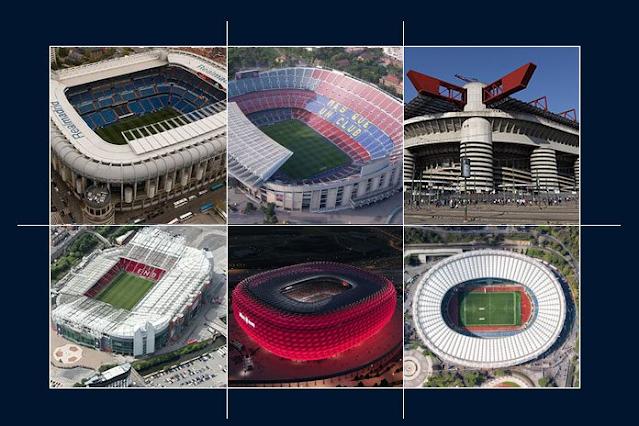 أجمل 10 ملاعب كرة قدم في العالم