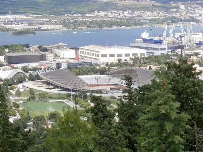 das Stadion von Split
