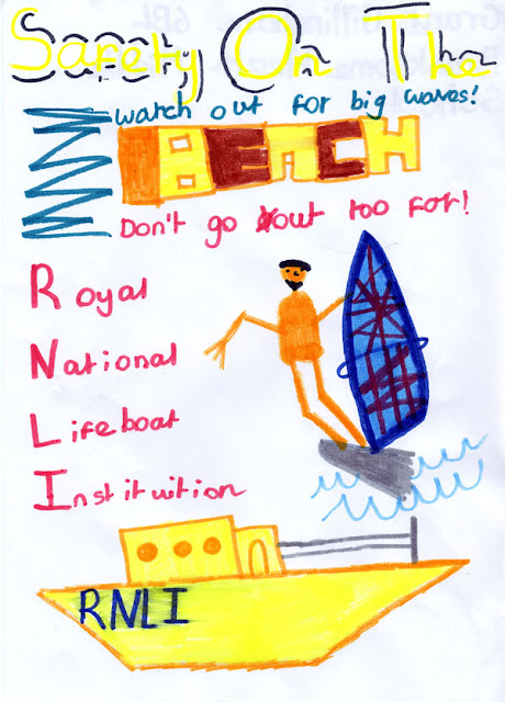 Sea safety poster - Grant