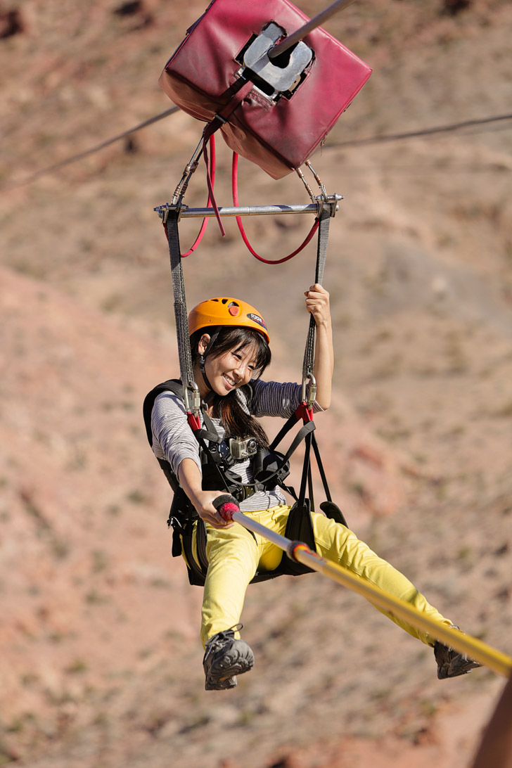 Zipline Boulder City // Las Vegas To Do List.
