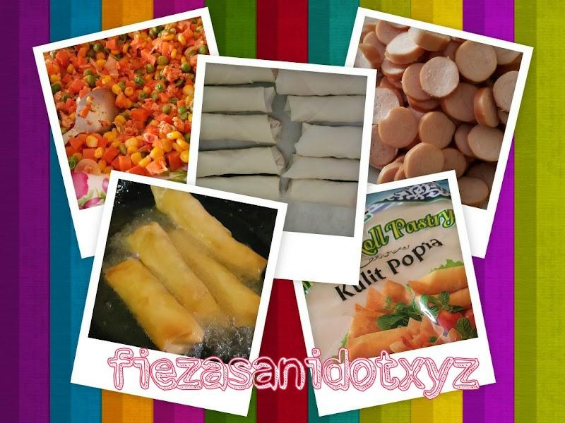 Dapur FiezaSani - Resipi Mudah Popia Goreng