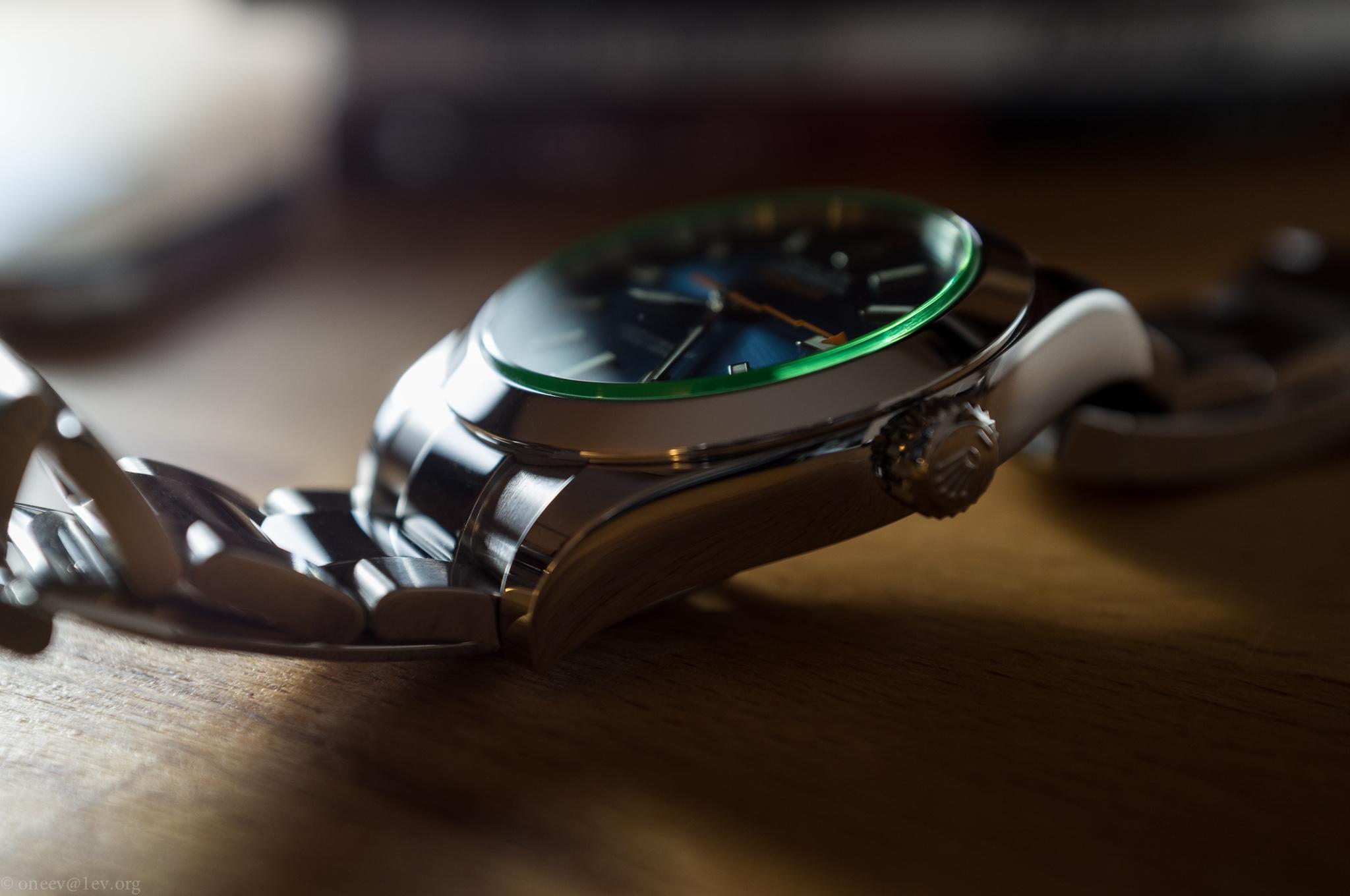 Revue illustrée de la Rolex Milgauss Z-Blue 20150428-DSCF6328